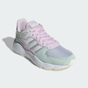 Adidas CRAZYCHAOS Shoes Sneakers Size 8 Pink Blue